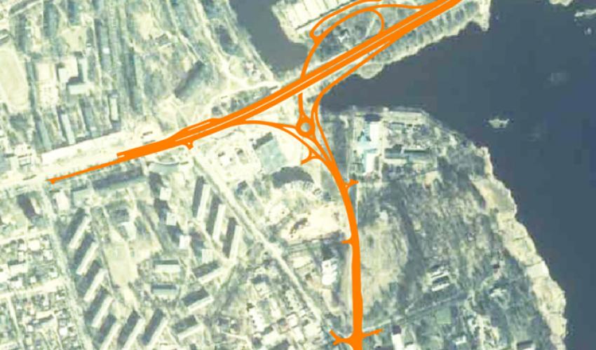 """Tehniskais projekts """"Brīvības gatves un Juglas ielas divlīmeņu krustojums"""