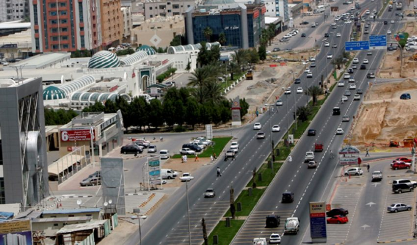 Gharnata Road and Al Hijin Road Widening project in Ajman Emirate